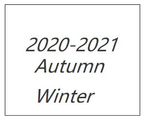 2020/21年秋冬コレクション
